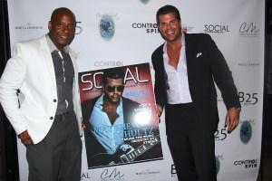 Sinclair Jones (Social Life Style Magazine) and Matthew Schultz