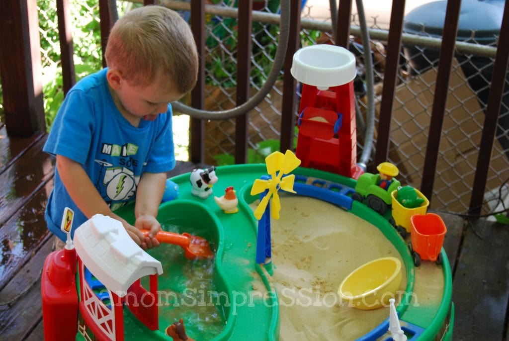 Step2 Sand and Water Fun Farm Review and Giveaway CLOSED A Moms Impression  Recipes Crafts