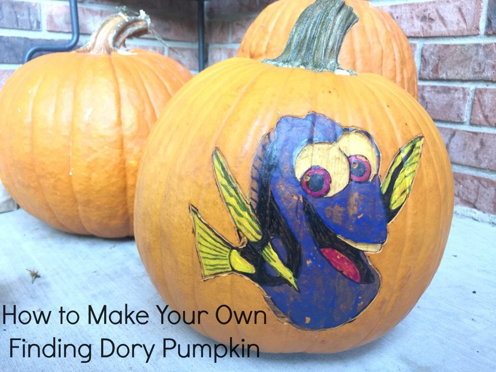 Finding Dory Halloween Activites And Pumpkin Carving Tips