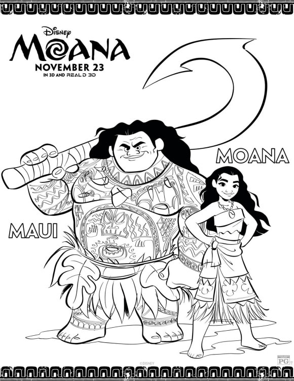 Fun and Free Moana Activities for Kids- A Mom's Impression
