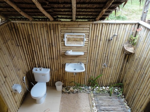 Séjour en couple à Koh Mook - salle de bain