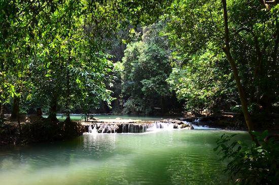 Tour privé terrestre à Ao Luk jungle Thon Khorani