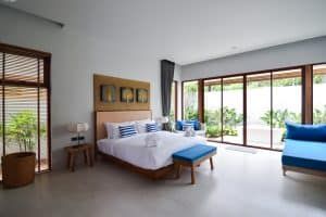 Casteway villa Thalane Garden Room