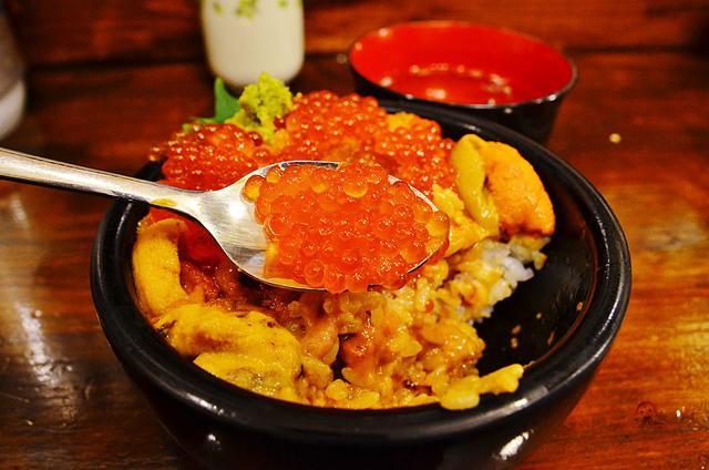 海鮮處魚屋の台所, 札幌美食, 海膽丼, 二条市場