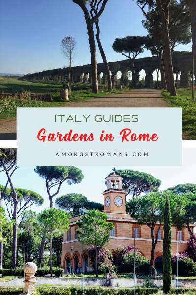 Gardens and parks in Rome
