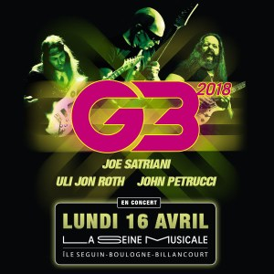 G3 - Joe Satriani - Uli Jon Roth - John Petrucci