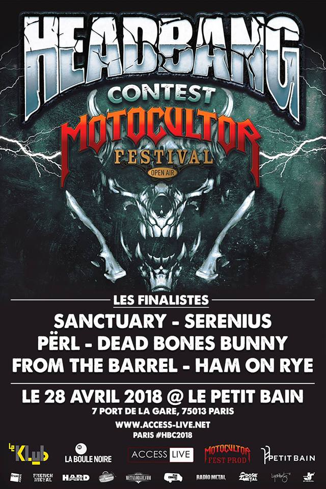 Headbang Contest - LA FINALE ! - Among The Living
