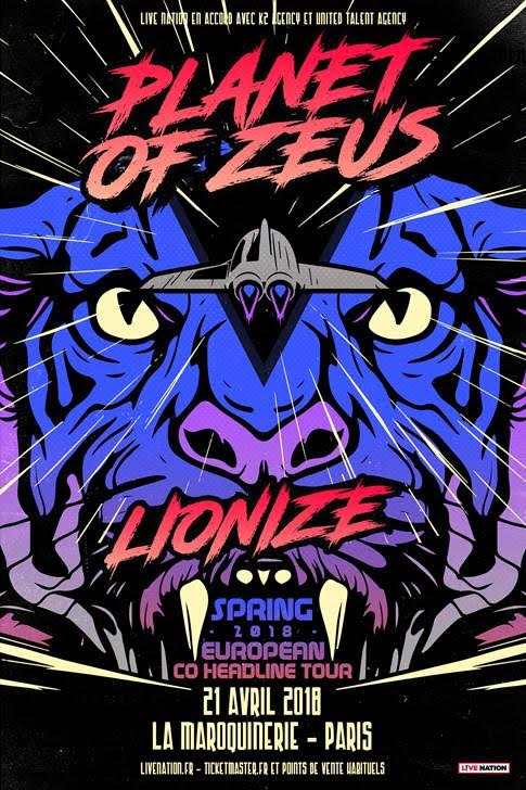 Planet of Zeus + Lionize