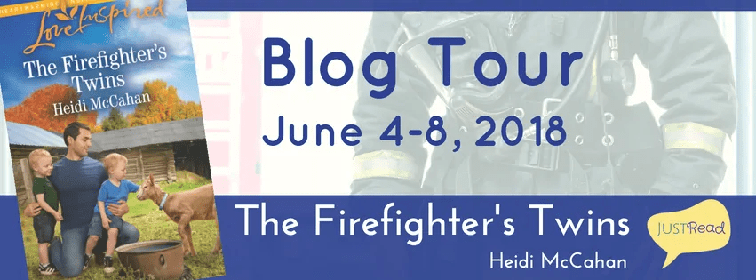 The Firefighter's Twins by Heidi McCahan - Book Review, Guest Post, Preview