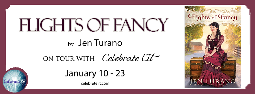Flights of Fancy by Jen Turano - Book Review, Preview