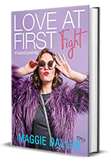 YA Love Tour – Love at First Fight by Maggie Dallen – Spotlight, Preview
