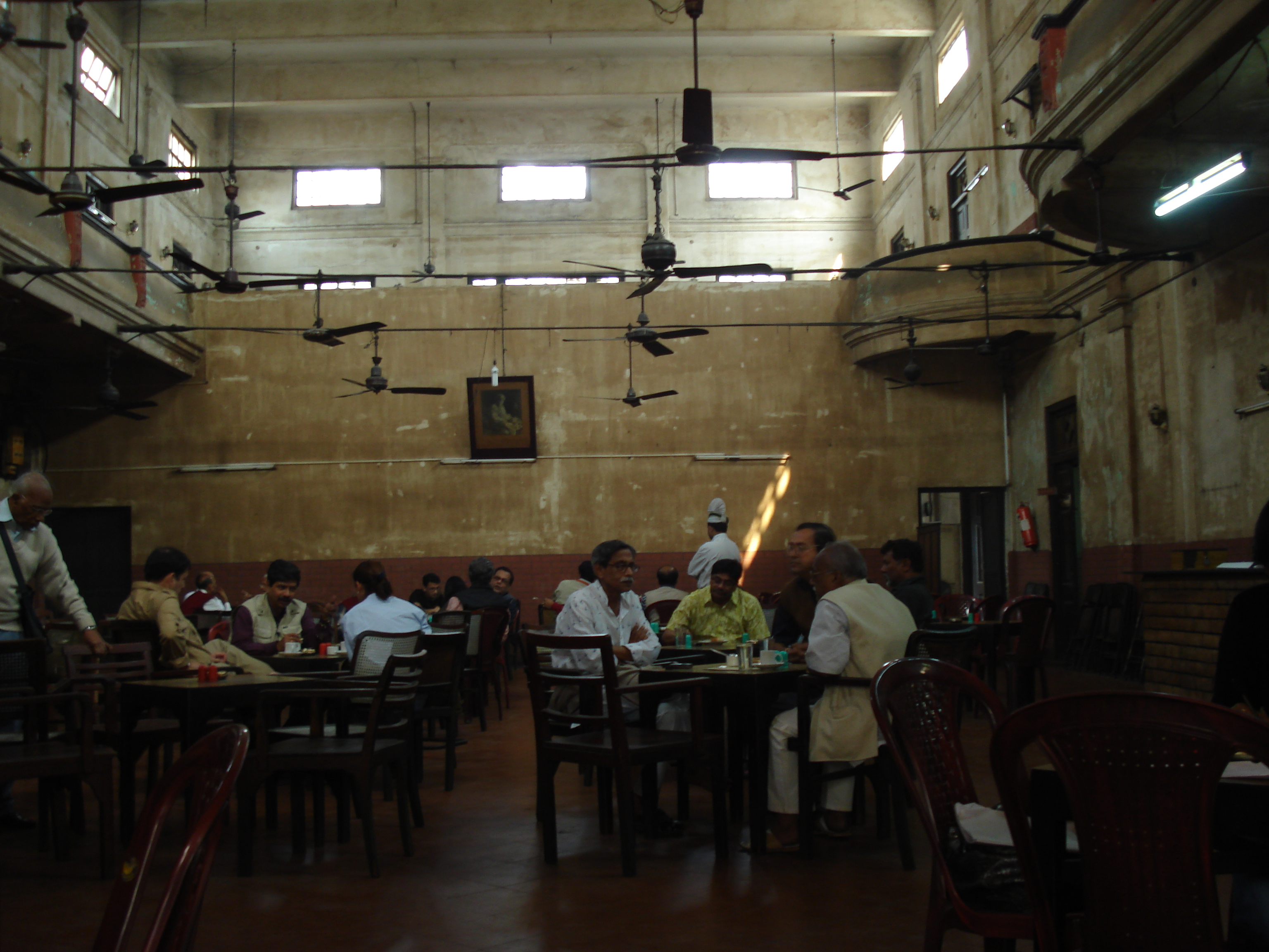 Indian Coffee House, off College St, Kolkata