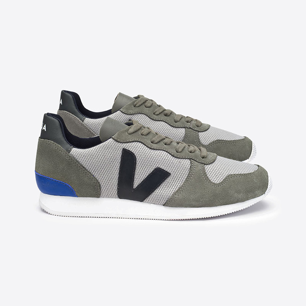 Baskets VEJA - Holiday Low Top Suede B-mesh Silver Black