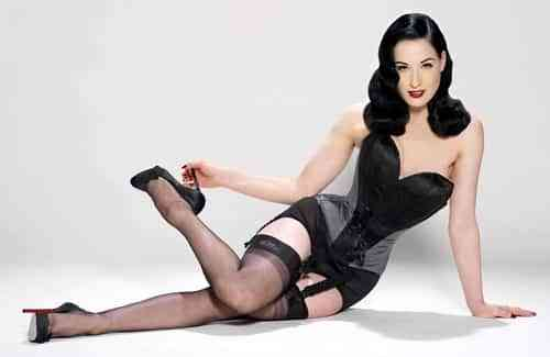 Dita Von Teese, una pin-up girl moderna
