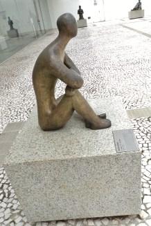 """Bruno Giorgio, 1951 """"O Atleta"""", bronze"""