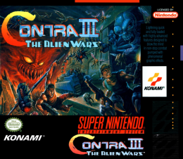 Contra Cover (front)