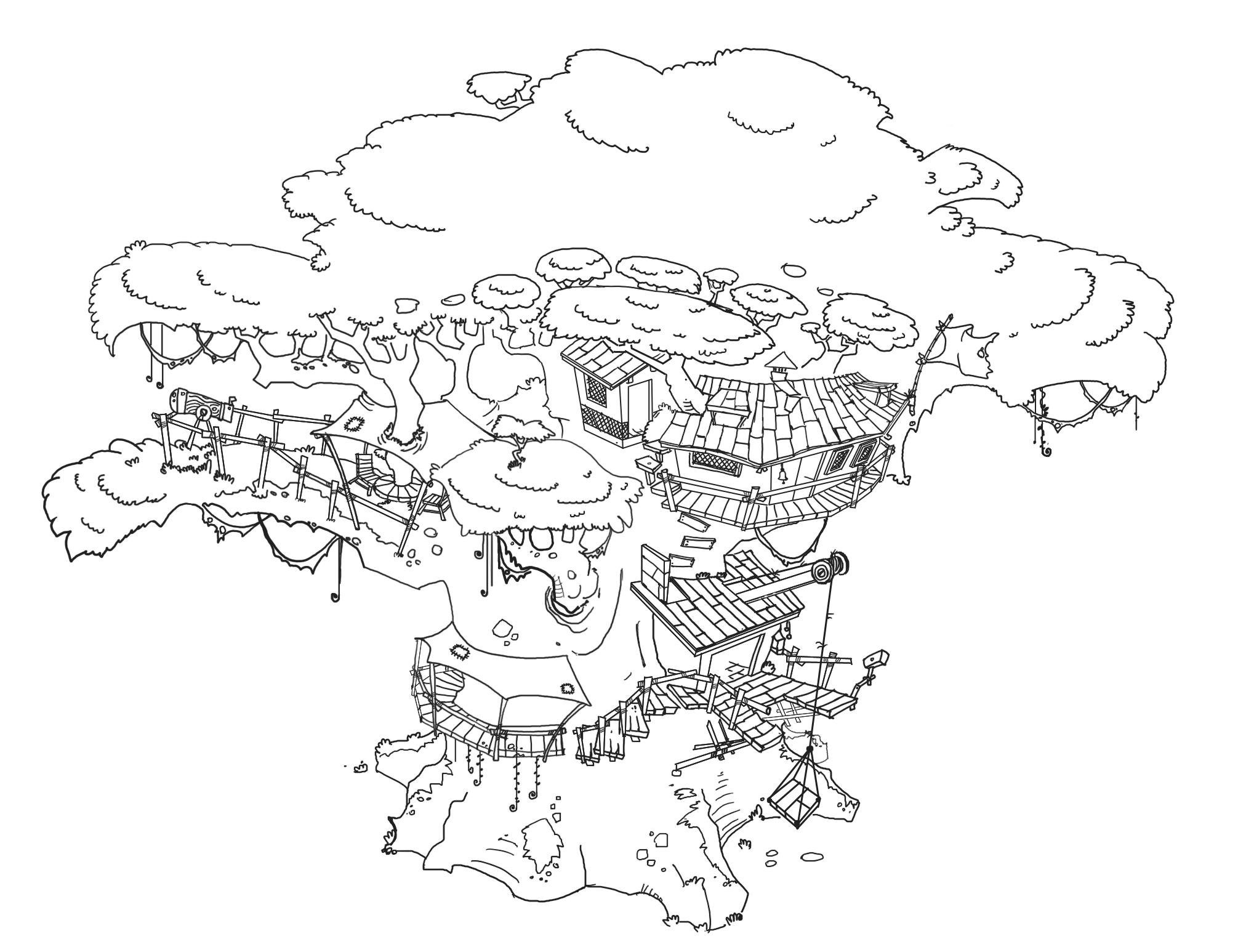 Concept Art Of Amazon Nintendo Wii