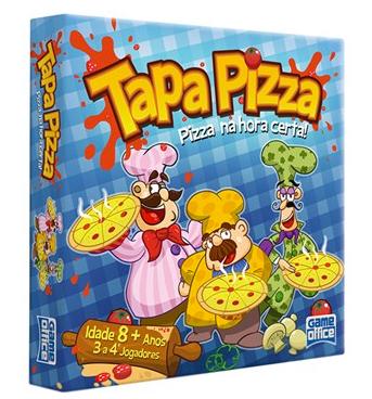 Brinquedo: Tapa Pizza - jogo de cartas (4/6)