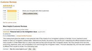 Review Amor and Exile at Amazon.com