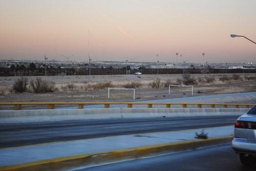 Juarez El Paso border walls