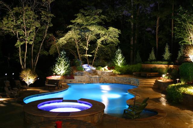 underwater led pool lighting ideas