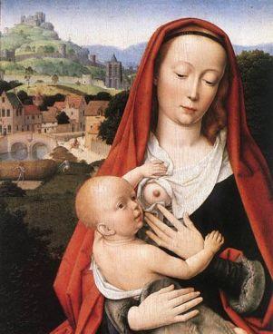Gérard David (1460-1523). Virgen con el niño.