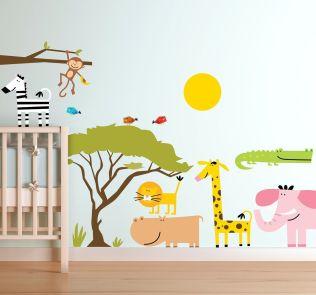 vinilo-infantil-sticker-sabana-africa-5811