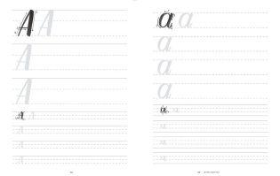 aprender caligrafia