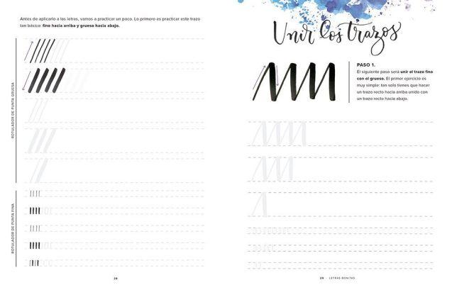 como empezar lettering