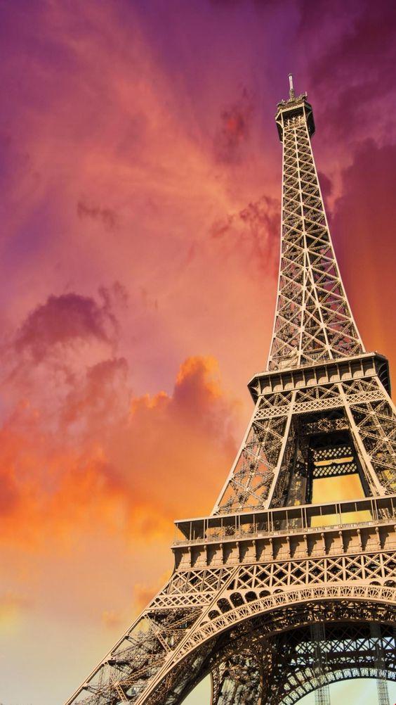 Wallpaper Paris Pink Cute Linda Torre Eiffel De Fondo De Pantalla De Celular