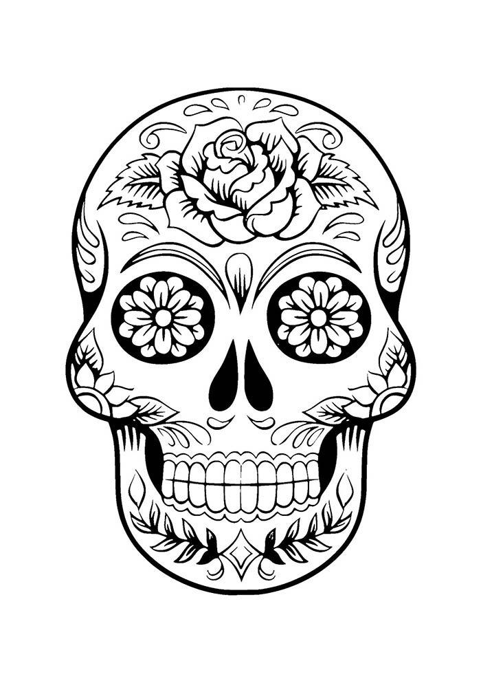 Desenhos de unicórnios para colorir, imprimir e pintar. 40 Desenhos de Flores para Colorir | Amor de Papéis