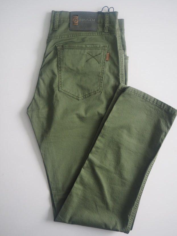 Jungle Green American Pocket Khaki