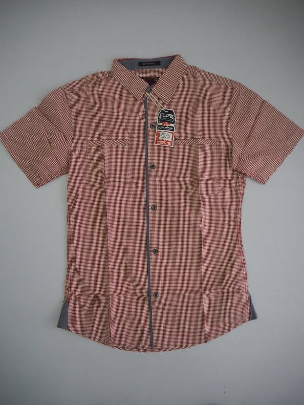 Red Small Checked Shirt