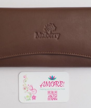 Brown Mulberry Wallet