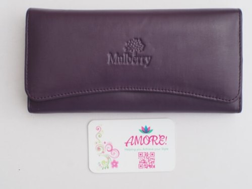 Purple Mulberry Wallet