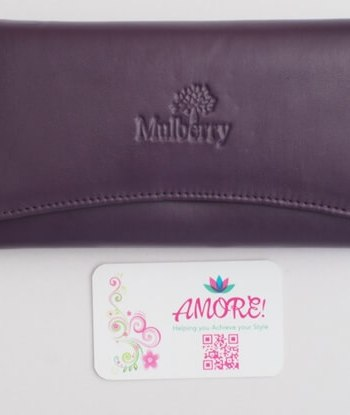 Purple Mulberry Wallet