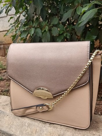 Copper sling bag