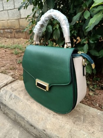 Emerald green bag