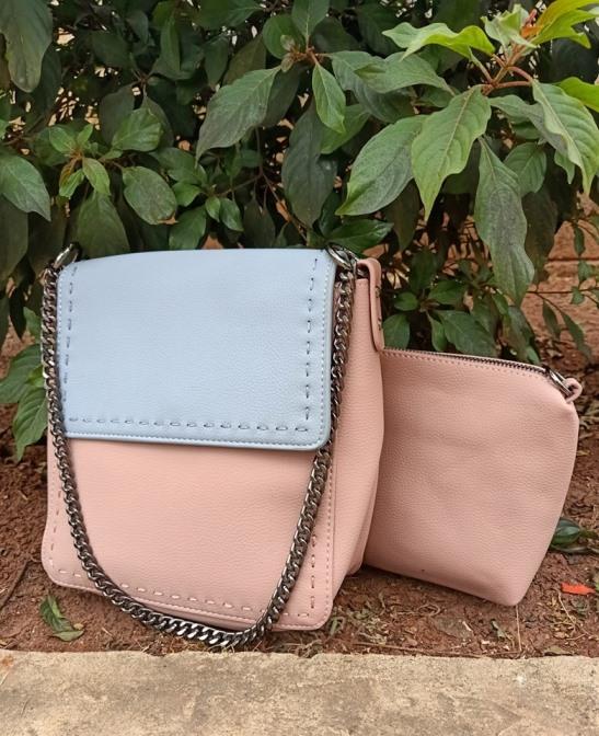 Pink blue sling