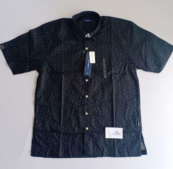 Black printed shirt