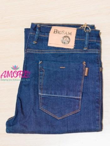 Big S dark blue jeans