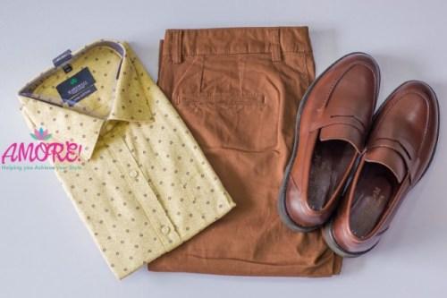 Shirt, shoes & Pants combo set 44