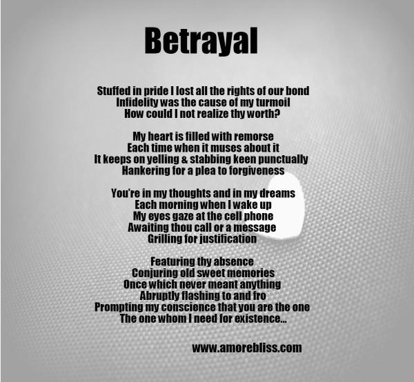 Poems About Betray 5