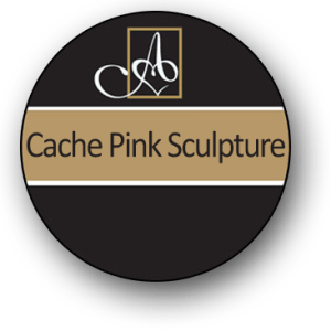 Cache Pink Sculpture