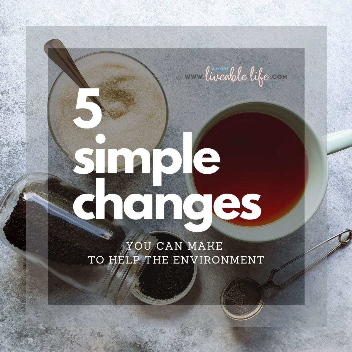 Simple Changes To Help The Environment