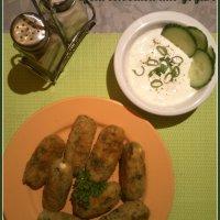 Crocchette di spinaci riso e feta, o dell'invidia dei miei colleghi