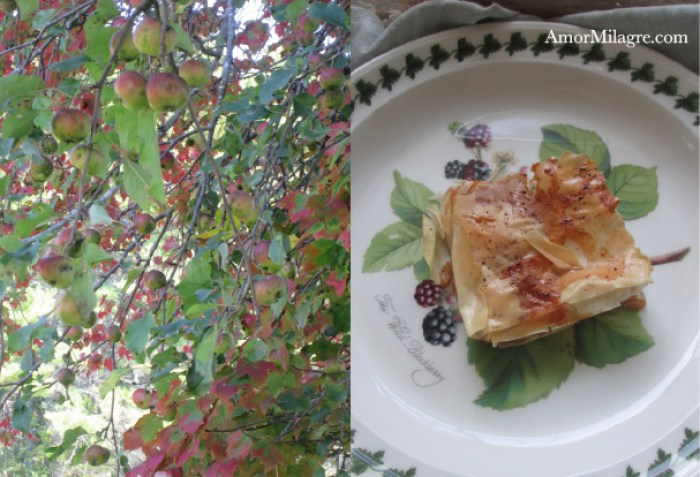 Amor Milagre Teatime Apple Strudel organic vegan recipe journal amormilagre.com