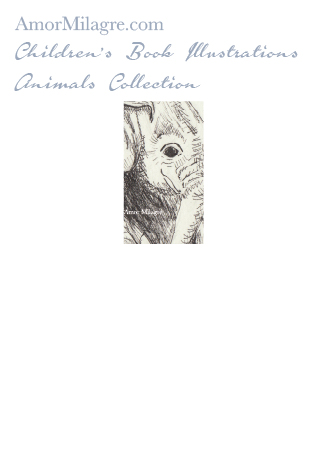 Amor Milagre Children's Book Animals Illustrations The Playful Elephant 1 beautiful for all spaces and ages, especially in a nursery amormilagre.com