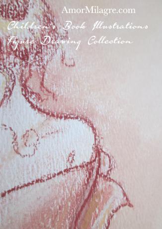 Amor Milagre Children's Book Illustrations Woman after a Bath detail 5 amormilagre.com