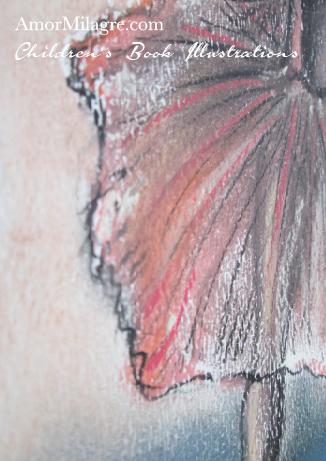 Gypsy Ballet Dancer Original Children's Book Illustrations Sage Dances Ballet The Chronicles of Sage Rose Sorrel by Amor Milagre amormilagre.com